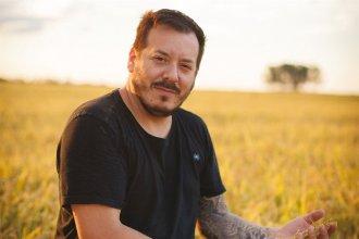 Gonzalo Aramburu, el chef que hace magia con el arroz carnaroli entrerriano