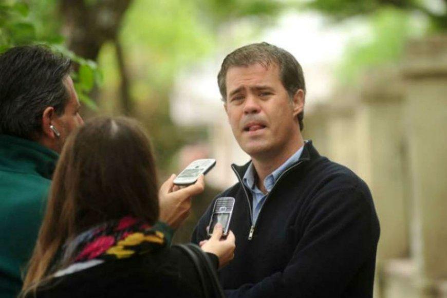 Martín Piaggio, intendente de Gualeguaychú.