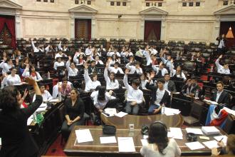 Jóvenes de todo el país podrán ser diputados por un día