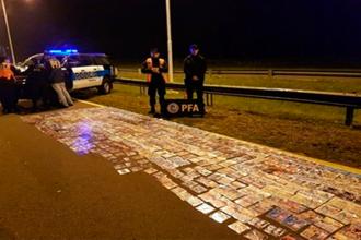 Secuestraron 80 mil pesos de mercadería que era transportada en colectivo