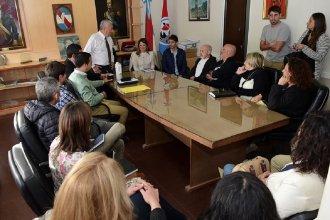 Gaillard y Lauritto se reunieron con representantes de la cultura uruguayense