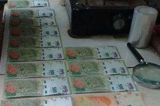 Fue detenido tras intentar comprar materiales de construcción con dinero falso