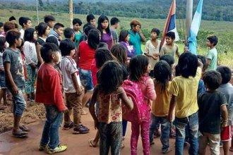Solidaridad motera para con una escuela aborigen
