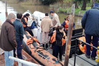 Se realizó un nuevo monitoreo en la desembocadura del río Gualeguacyhú