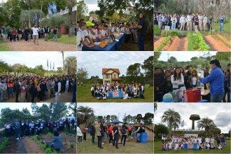 Hubo 3 días de campo con 2600 estudiantes como visitantes