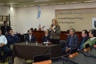 La Ministra de Gobierno se reunió con el Consejo de Seguridad de la Histórica