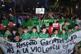 """""""Con respeto ganamos todos"""", dijeron ante la ola de violencia en el deporte infantil"""