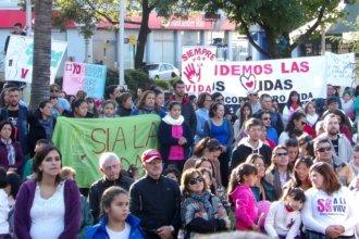 """""""Cuidemos toda vida"""", el mensaje que recorrió las calles de Concordia"""