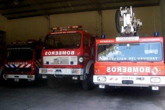 Intruso fue detenido dentro de un cuartel de bomberos voluntarios