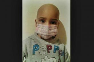Organizaron una colecta para ayudar a una niña que padece leucemia
