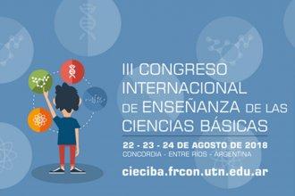 La enseñanza de las Ciencias Básicas tendrá su congreso internacional