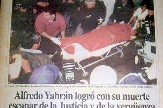 Escalofriante testimonio del comisario que encontró muerto a Yabrán