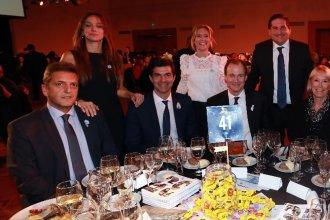 Bordet, Massa y Urtubey, juntos en la cena anual de Conciencia