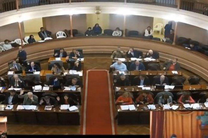 Con polémica, sometieron a votación el pedido para intervenir a Puerto Yeruá