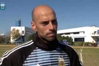 Faltan 20 días: El arquero entrerriano contó cómo se prepara la Selección para el mundial