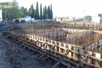 Avanza la construcción de la nueva cisterna del Plan Maestro de Agua de Concepción