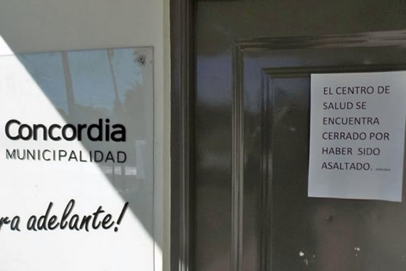 Centro de Salud cerró sus puertas tras ser atacado por un joven drogado