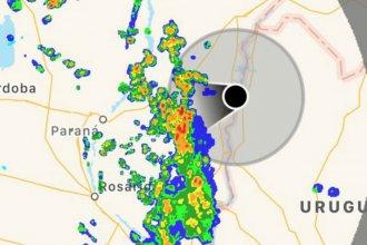 """Por las lluvias, piden """"extrema precaución"""" al transitar por la ruta 14"""