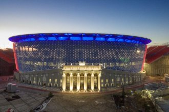 Es el estadio más sorprendente del Mundial de Rusia 2018
