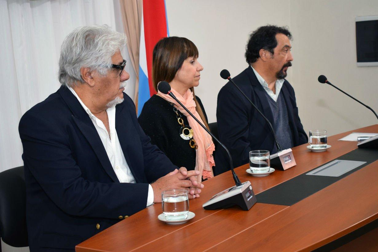 Mario Elizalde, Sonia Velázquez y Mario Imaz