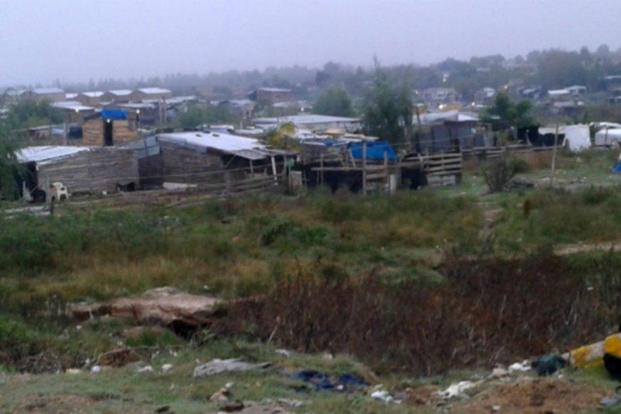 En este asentamiento ocurrió el cruce, en Salto.