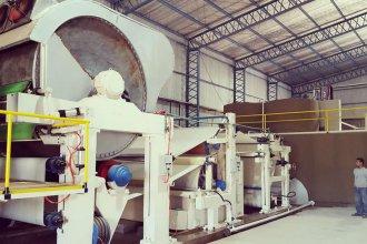 La fábrica de papel reciclado, a días de comenzar a funcionar