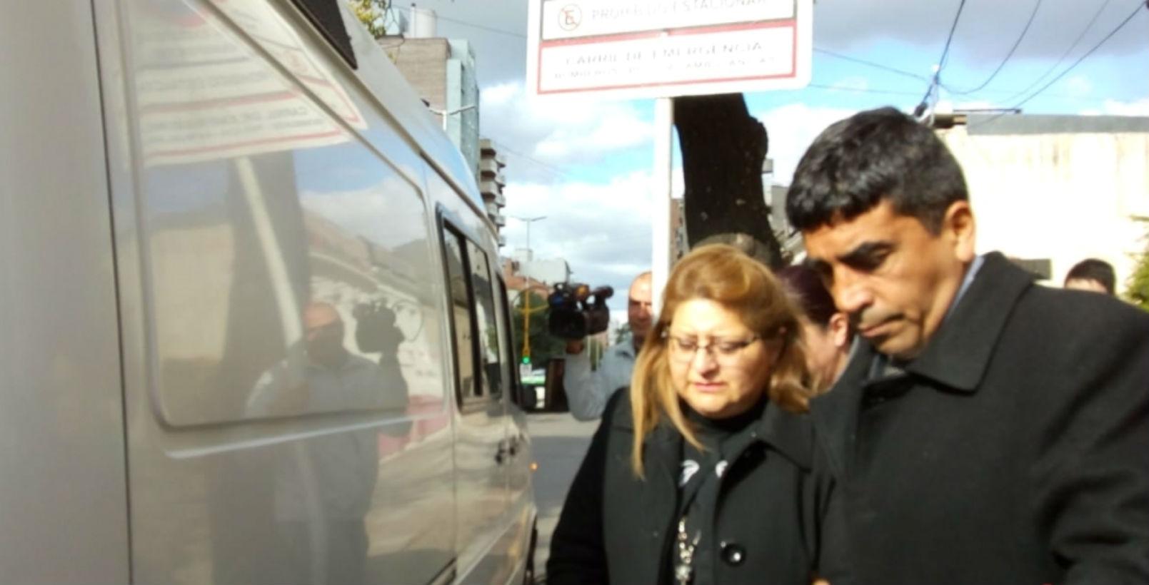 Bordeira, detenida desde ayer en Paraná.
