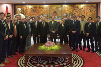 """Evalúan como """"favorable"""" la misión comercial al sudeste asiático"""