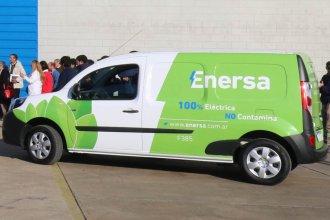 Enersa incorporó vehículos eléctricos