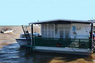 El primer aula taller flotante de Argentina está en Entre Ríos