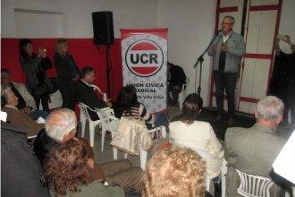 La UCR reinauguró el comité con sus referentes provinciales