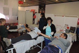 Salud y solidaridad en la décima campaña de donación de sangre