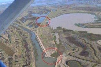 Marcha atrás a millonaria obra, por deformar el curso del río