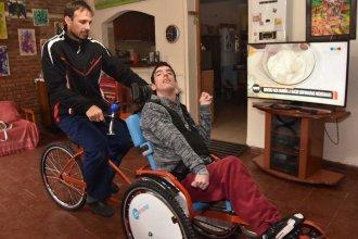 Una silla-bicicleta para Lucas Matto