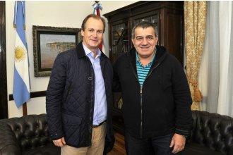 """Cáceres marcó que """"Bordet está decidido a liderar el proceso electoral que viene"""""""