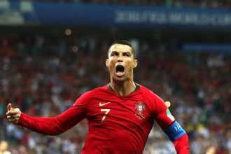 España y Portugal brindaron un show de goles en su encuentro mudialista