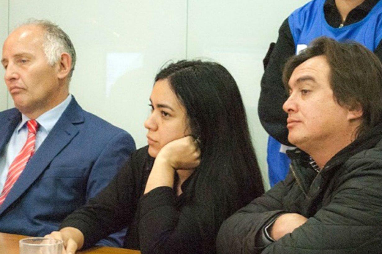 Aguilera (derecha) junto a Luciana Almada