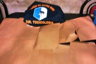 Desactivaron otro punto de venta de drogas en Concordia