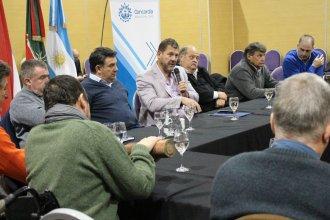 Alineados: los viceintendentes respaldaron a Bordet y a la reforma electoral