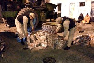 Detuvieron la marcha de un narcotractor, cargado de 751 kilos de marihuana