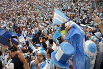 El himno argentino convertido en un gutural canto de guerra