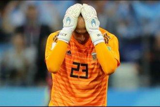 Tras el partido con Croacia, Caballero rompió el silencio
