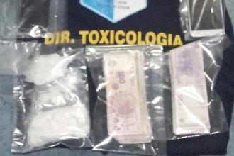 Un detenido en operativo antidrogas en Colón: secuestran cocaína, dinero y un auto