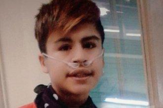 Una madre entrerriana pide una mochila de oxígeno para su hijo de 15 años