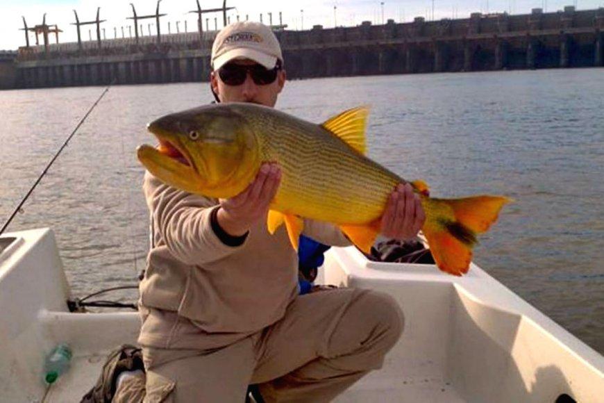 Resultado de imagen para pesca en el rio concordia