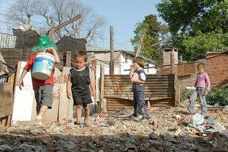 UNICEF emitió un duro informe: el 48% de los niños argentinos son pobres