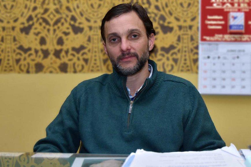 Dr. Peragallo / Crédito Rubén Comán EER