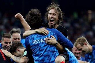Croacia pasó a cuartos de final tras vencer a Dinamarca