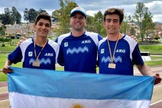 Concordia aportó dos preseas de bronce al medallero argentino