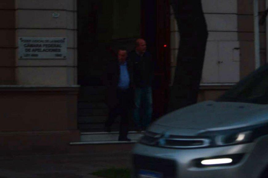 Así salió de Tribunales esta mañana (Foto: La Voz)
